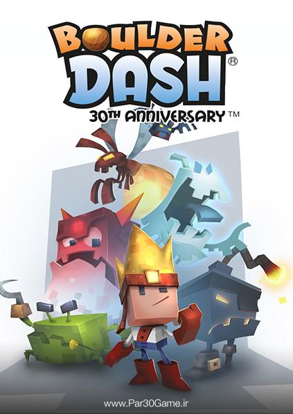دانلود بازی Boulder Dash برای PC,دانلود بازی Boulder Dash برای کامپیوتر,سیستم مورد نیاز بازی Boulder Dash , دانلود بازی Boulder Dash - 30th Anniversary