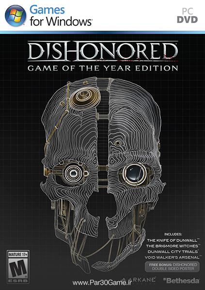 دانلود بازی Dishonored Game of The Year Edition برای PC,دانلود بازی Dishonored برای کامپیوتر,سیستم مورد نیاز بازی Dishonored, بازی Dishonored