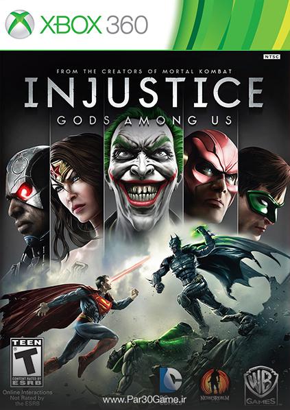 دانلود بازی Injustice Gods Among Us برای XBOX 360,دانلود بازی Injustice Gods Among Us برای ایکس باکس 360,بازی ایکس باکس 360, دانلود Injustice Gods Among Us
