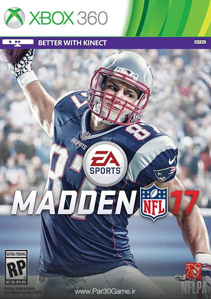 دانلود بازی Madden NFL 17 برای XBOX 360,دانلود بازی Madden NFL 17 برای ایکس باکس 360,بازی ایکس باکس 360, دانلود بازی Madden NFL 17