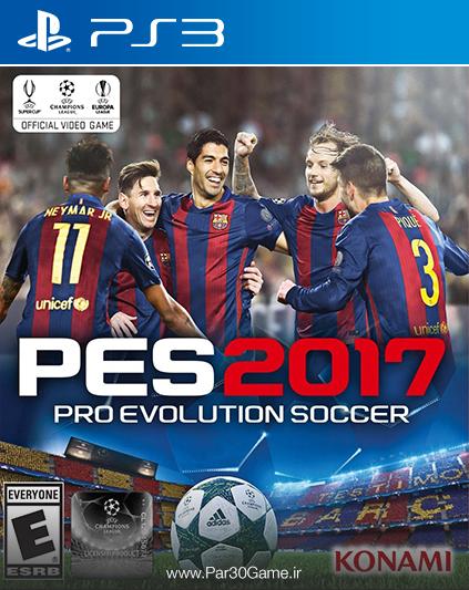 دانلود بازی PES 2017 برای PS3, دانلود بازی PES 2017 برای پلی استیشن 3, دانلود بازی برای پلی استیشن 3, دانلود بازی Pro Evolution Soccer 2017