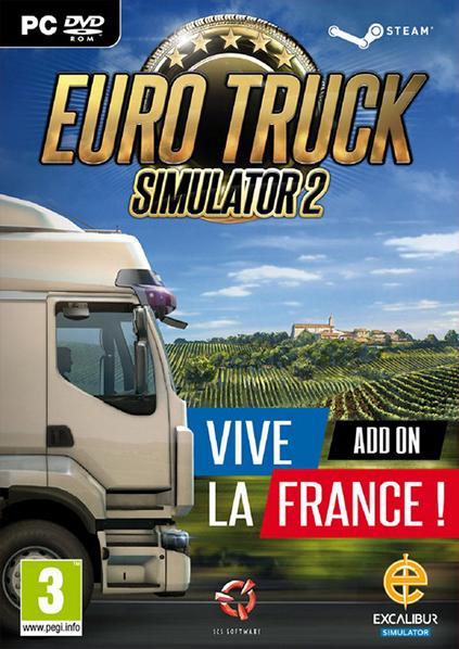 دانلود بازی Euro Truck Simulator 2 Vive la France برای PC,دانلود بازی Euro Truck Simulator 2 برای کامپیوتر,سیستم مورد نیاز بازی Euro Truck Simulator 2