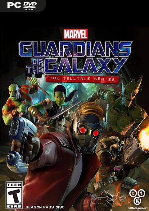 دانلود بازی Marvel's Guardians of the Galaxy: The Telltale Series برای کامپیوتر