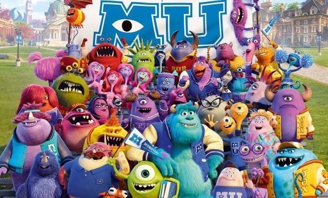 دانلود انیمیشن دانشگاه هیولاها - Monsters University 2013