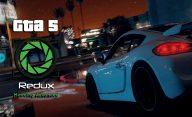 دانلود ماد گرافیکی Redux برای GTA V