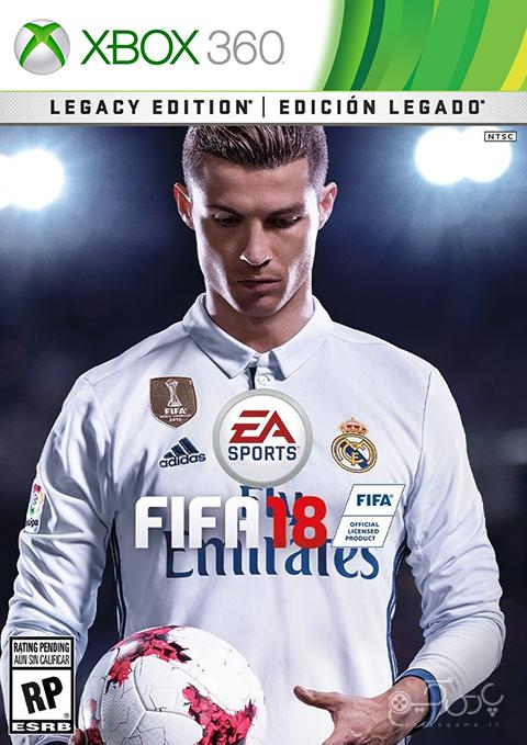 دانلود بازی FIFA 18 برای ایکس باکس 360
