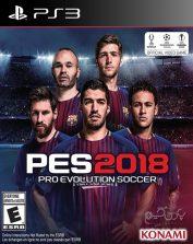 دانلود بازی PES 2018 برای PS3