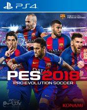 دانلود بازی PES 2018 برای PS4