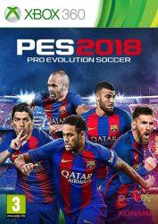 دانلود بازی PES 2018 برای XBOX 360