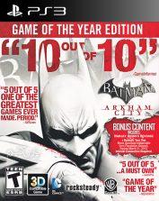 دانلود بازی Batman Arkham City برای پلی استیشن3