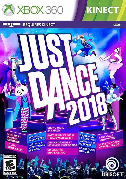 دانلود بازی Just Dance 2018 برای XBOX 360