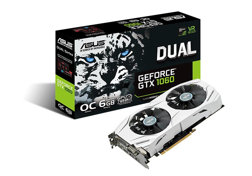ASUS Dual-GTX1060-06G