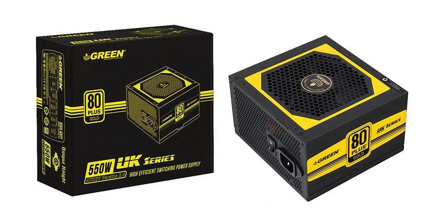 Green GP550a-UK 80 Plus
