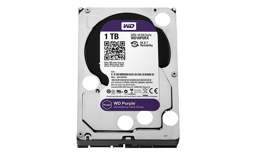 Western Digital WD10PURX Purple 1TB Internal
