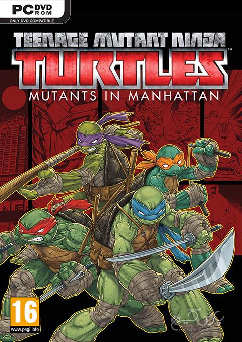 دانلود بازی Teenage Mutant Ninja Turtles Mutants in Manhattan برای PC