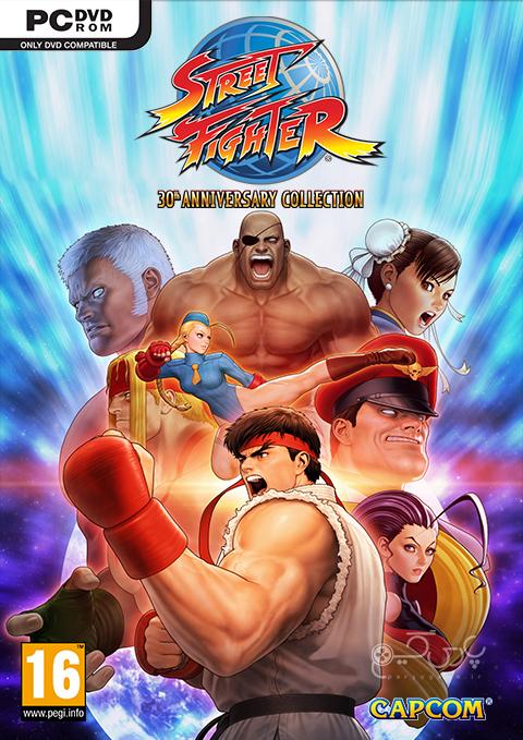 دانلود بازی Street Fighter 30th Anniversary Collection برای PC