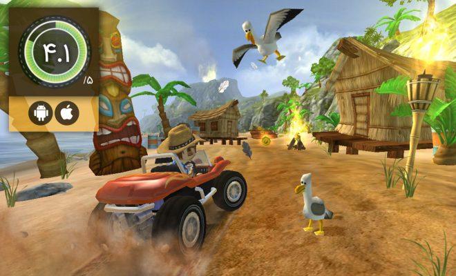 دانلود بازی Beach Buggy Racing 2 برای اندروید و آیفون