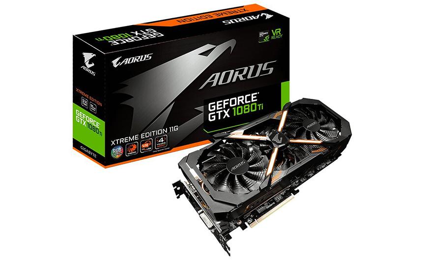 GIGABYTE AORUS GTX 1080 Ti Xtreme Edition 11GB
