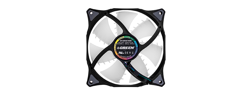 GREEN GF120HAF-RGB 120