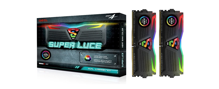 Geil Super Luce RGB DDR4 28GB 3200 CL16