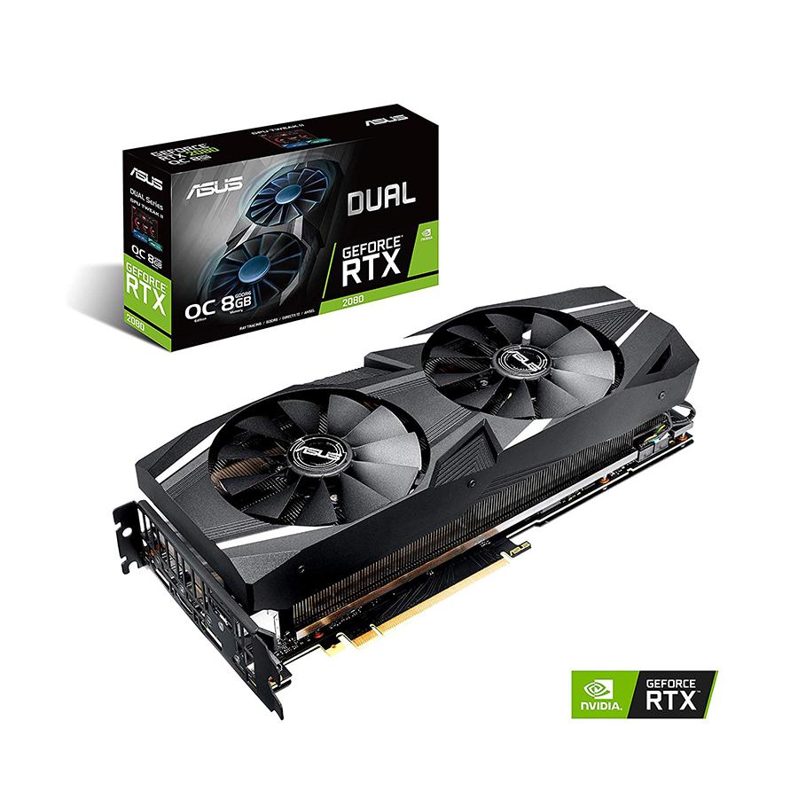 ASUS DUAL RTX 2080 OC 8GB