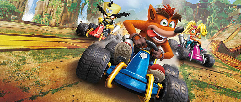 دانلود بازی Crash Team Racing Nitro-Fueled