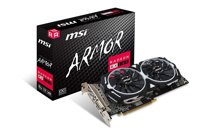 MSI RX 580 ARMOR 8GB OC
