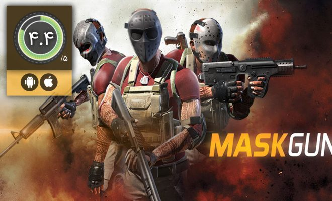 دانلود بازی MaskGun Multiplayer FPS برای اندروید و آیفون