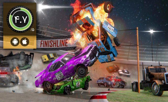 دانلود بازی Demolition Derby 3 برای اندروید و آیفون