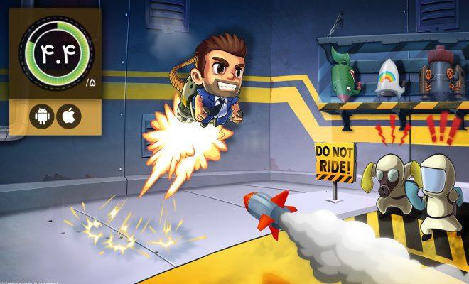 دانلود بازی Jetpack Joyride برای اندروید و آیفون