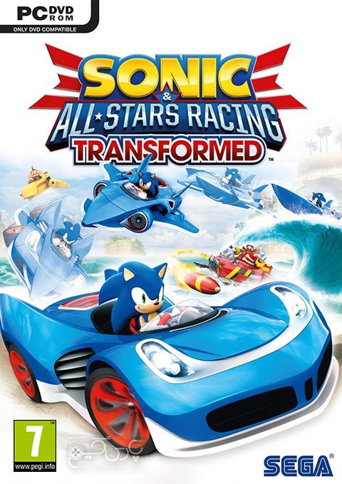 دانلود بازی Sonic & All-Stars Racing Transformed برای PC