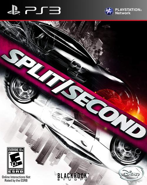 دانلود بازی Split Second برای PS3