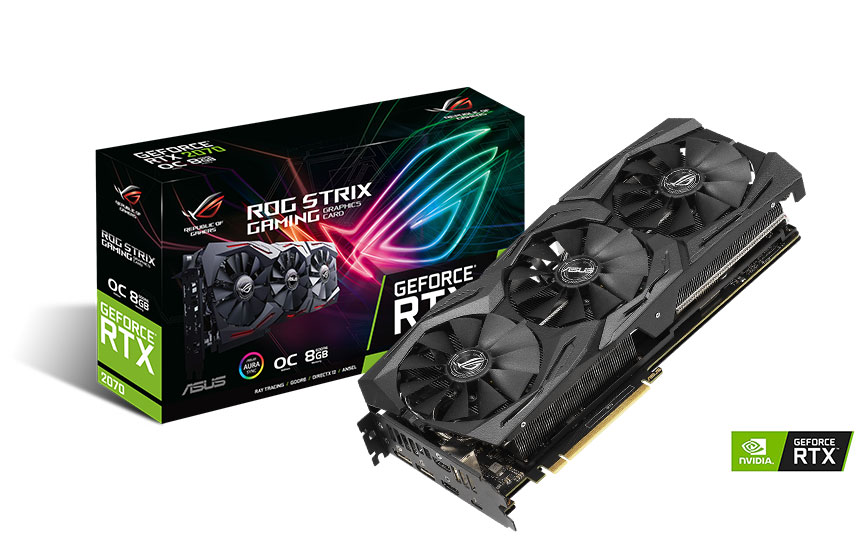 ASUS ROG STRIX RTX 2070 GAMING OC 8GB