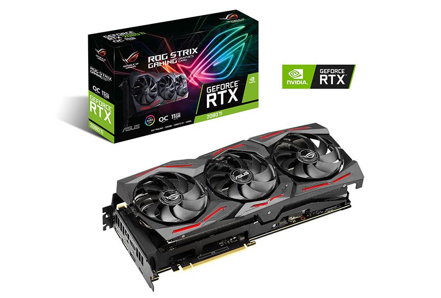 ASUS STRIX RTX 2080 TI OC 11G GAMING