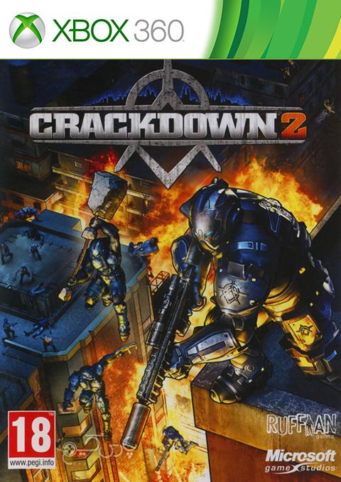 دانلود بازی Crackdown 2 برای XBOX 360