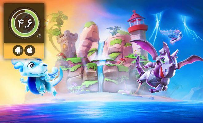 دانلود بازی Dragon Mania Legends برای اندروید و آیفون