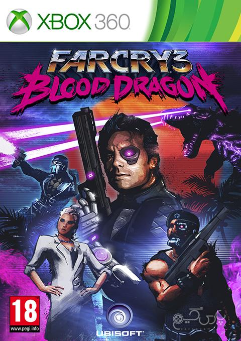 دانلود بازی Far Cry 3 Blood Dragon برای XBOX 360