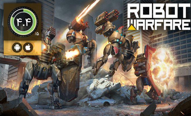 دانلود بازی Robot Warfare Robot games برای اندروید و آیفون