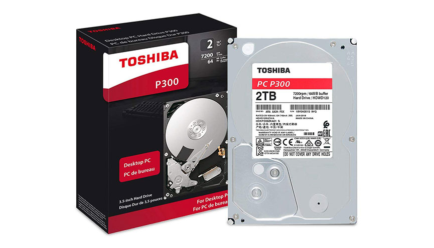 TOSHIBA P300 2TB 7200 RPM 64MB