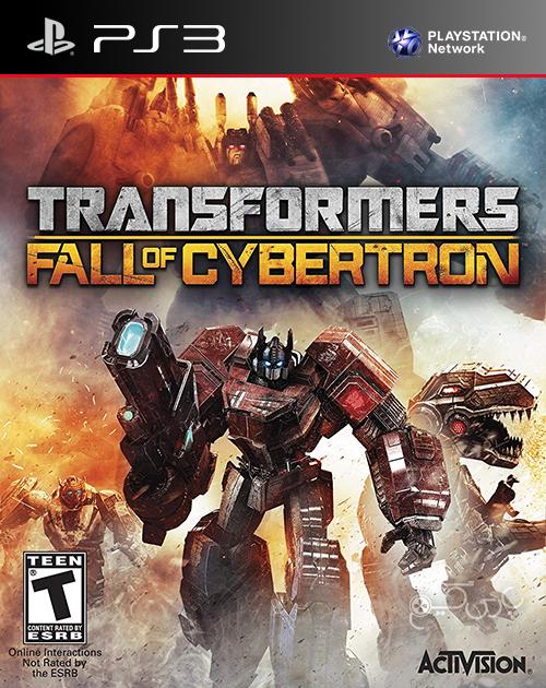 دانلود بازی Transformers Fall of Cybertron برای PS3