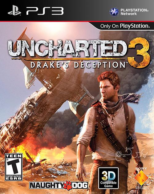 دانلود بازی Uncharted 3 Drake's Deception برای PS3