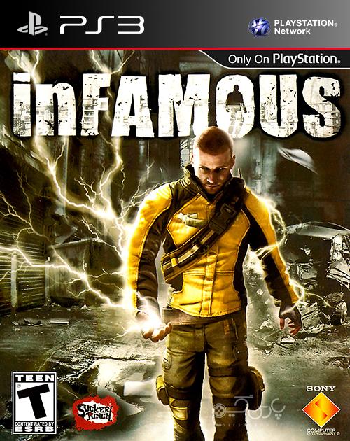 دانلود بازی inFamous برای PS3