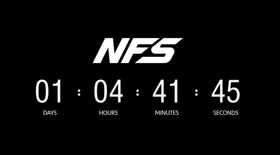 need for speed countdown