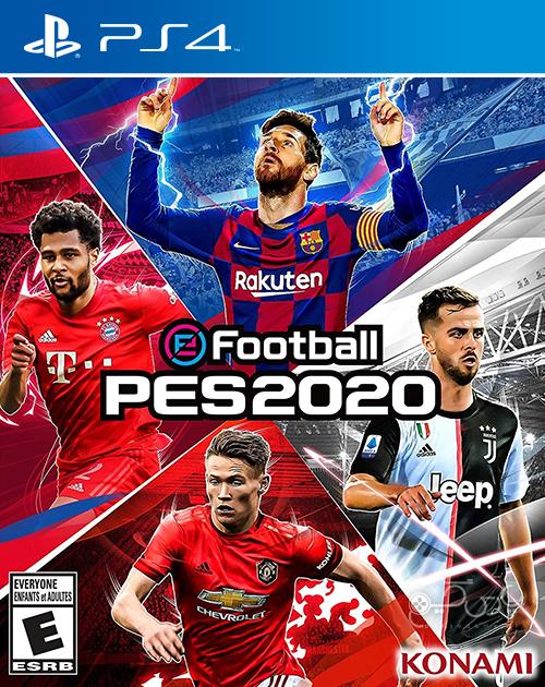 دانلود بازی PES 2020 برای PS4