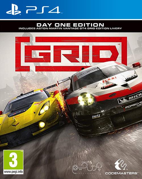 دانلود بازی GRID برای PS4
