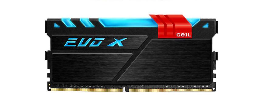 Geil Evo X RGB 4GB DDR4 2400 CL16