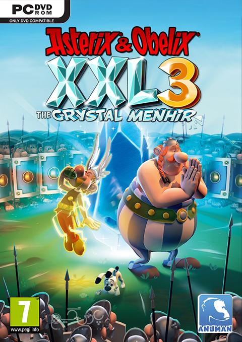 دانلود بازی Asterix & Obelix XXL 3 The Crystal Menhir برای PC