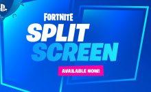 fortnite split screen