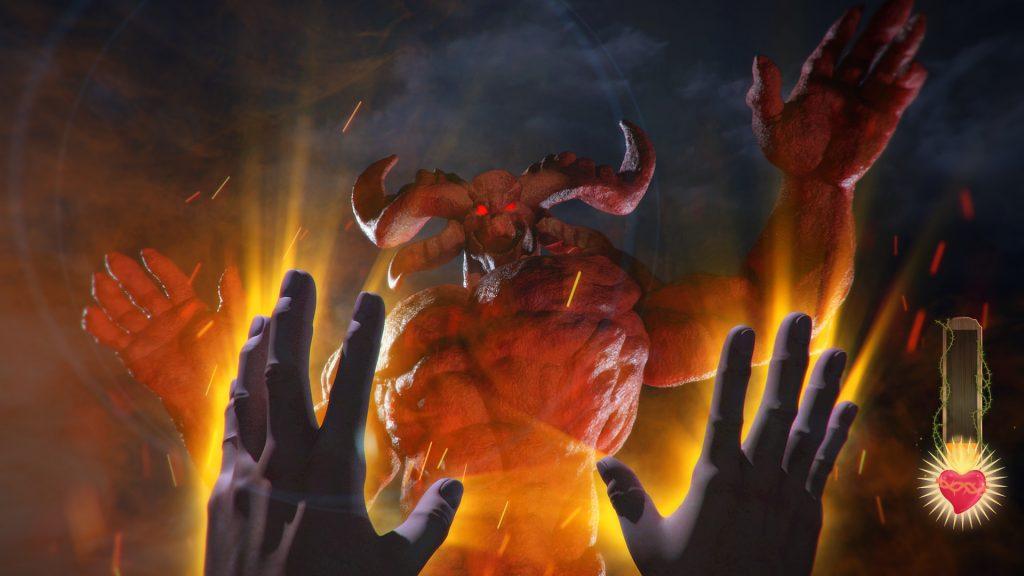 شبیه ساز نبرد با شیطان!
