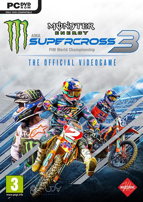 دانلود بازی Monster Energy Supercross 3 برای PC